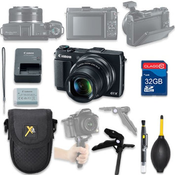 Als Variety Canon PowerShot G1 X Mark II Digital Camera with 32GB SD Memory Card + Accessory Bundle
