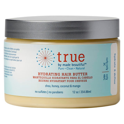 true by made beautiful Hydration Hair Butter - 12oz