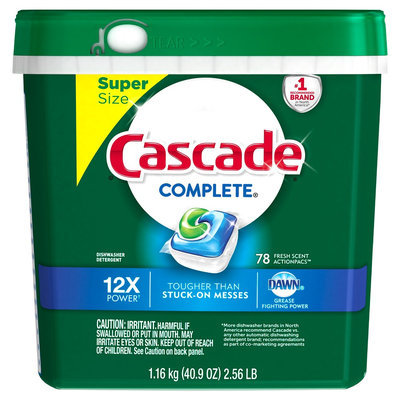 Cascade Complete ActionPacs Fresh 78 Count