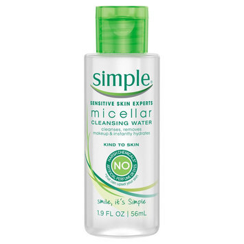 Simple Kind to Skin Cleansing Water Micellar -1.9oz