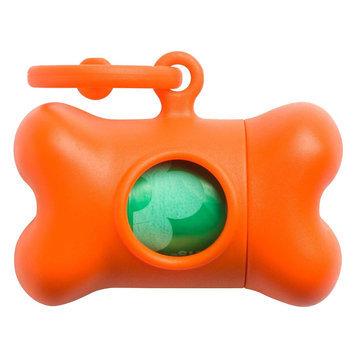 Petego Bon Ton Classic Dog Waste Bag Dispenser Color: Orange