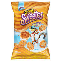 Cheetos Sweetos Caramel Flavored Puffs