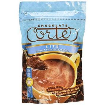 Ground Lite Hot Chocolate Cocoa Cortes 10oz