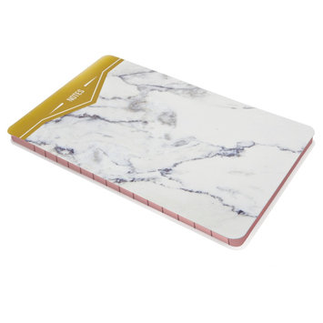 Post-It Notes with Marble Cover, White