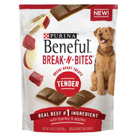 Purina Beneful Break-N-Bites Tender Beef, Barley & Apples Flavor Dog Treats - 16 oz