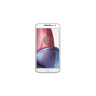 Motorola - Moto G Plus (4th Generation) 4g Lte With 16GB Memory Cell Phone (unlocked) - White