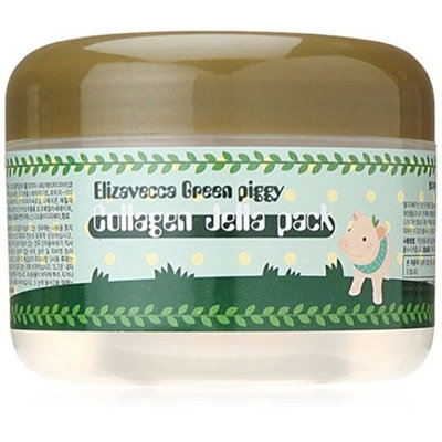 Milky Pig Carbonated Bubble Clay Mask Green Piggy Collagen Jella Pack by Elizaveccaor