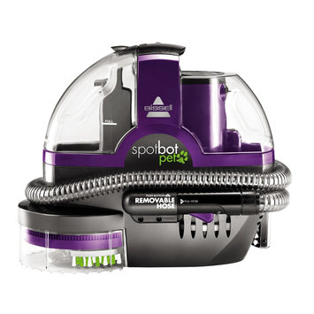 Bissell SpotBot Pet Portable Carpet Cleaner, Purple