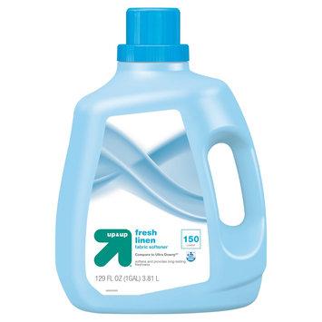 Liquid Fabric Softener, Fresh Linen Scent, 129 oz - up & up