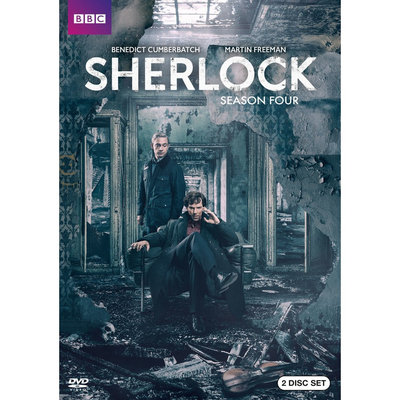 Sherlock: Series Four (Dvd)
