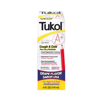 Tukol A+ Cough & Cold For Children Grape - 4oz