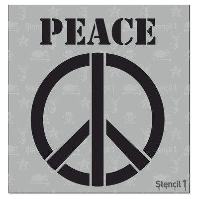 Stencil1 Peace Sign (6