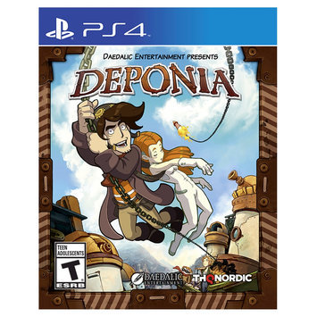 Thq Nordic Deponia Playstation 4 [PS4]