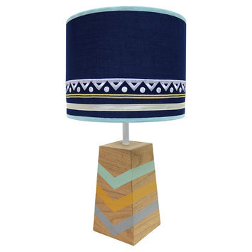 The Peanut Shell Indio Lamp and Shade