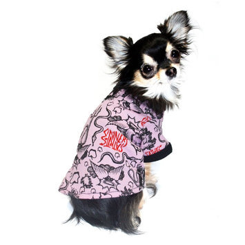 Hip Doggie HD-2PT0-S Small Pink Thermal