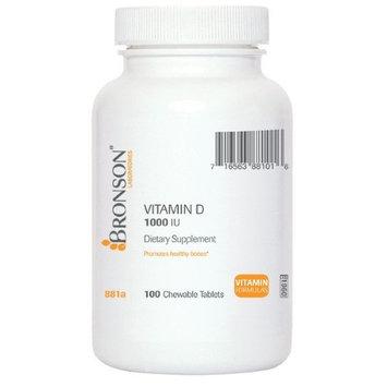 Bronson Vitamins Chewable Vitamin D 1000 IU