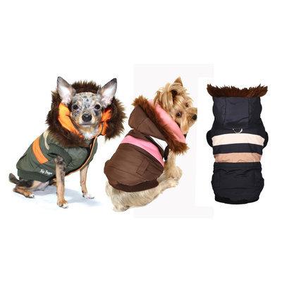 Hip Doggie Olive Urban Ski Vest V2, Big Dog L