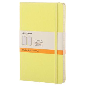 Moleskine Hardcover Ruled Large Notebook