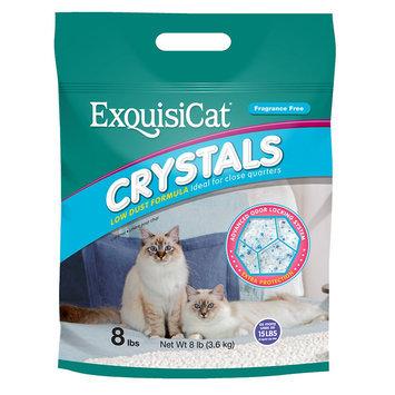 Exquisicat® Crystals Low Dust Formula Fragrance Free Cat Litter size: 8 Lb