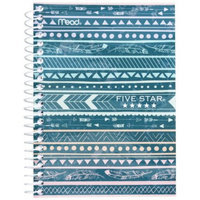 FiveStar Five Star 7x5 Fashion Notebook 1 Subject