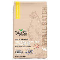 Purina Beyond Small Batch Grain-free North American White Meat Chicken and Egg Dry Cat Food - 4.5 lb. Bag