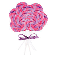 Pink and Purple Swirl Lollipop (16 count)