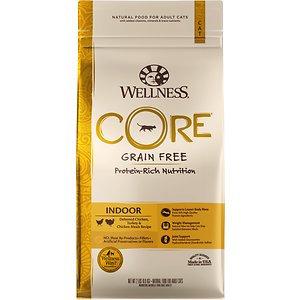 Wellness CORE® INDOOR Indoor: Deboned Chicken, Turkey and Chicken Meals Dry Cat Food