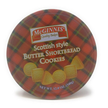 McGinnis Scottish Sytle Butter Shortbread Cookies (12 Oz.) 40 Cookies