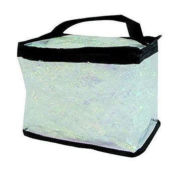 Clear Totes Train Makeup Case