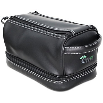 ToiletTree Products Toiletry Bag With TSA Approved Bottles and Sonic Travel Toothbrush Bonus