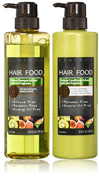 Clairol Hair Food Volume Shampoo & Conditioner Set Infused With Kiwi Fragrance