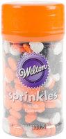 Wilton Short Bottle Sprinkles 3oz-Colorful Skulls