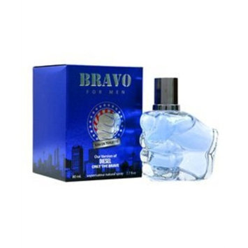 BRAVO-PERFUME FOR MEN-2.7 OZ-EDT-VERSION OF DIESEL ONLY THE BRAVE by Diamond Collection