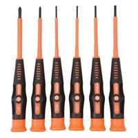 Pittsburgh Pro 6 Piece Electrician's Micro Screwdriver Set