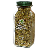 Simply Organic, Fennel Seeds, 1.90 oz (54 g) Simply Organic, Fennel Seeds, 1.90 oz (54 g) - 2pcs (Pack of 2)
