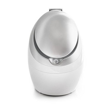 Esthology Portable Tabletop Facial Steamer Sauna Ionic Hot Spray Mist with Ozone for Moisturizing Cleaning Skin Care