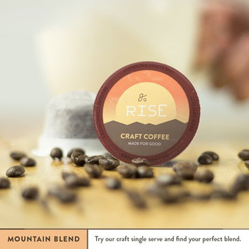 Try a Specialty Grade Coffee Sampler For Keurig K-Cup Brewers: 6-Count Medium Roast Mountain Blend. 1.0 and 2.0 Compatible. Premium Quality, Eco-Friendly Single-Serve Coffee by Greater Goods [Mountain Blend, 6]