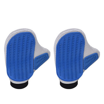 VicTsing Pet Grooming Mittens Brush, Deshedding Tool, Gloves for Removing Pet Shedding Hair, Pet Massage and Bathing Brush or Comb, for Dogs, Cats, Horses