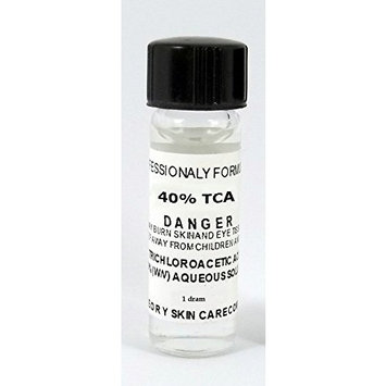 Trichloroacetic Acid 40% TCA Chemical Peel, 1 DRAM Trichloroacetic Acid
