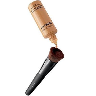 Bare Escentuals bareMinerals BARESKIN 2 Items Makeup Kit : Pure Brightening Serum Foundation BARE SATIN 06 SPF 20 and Perfecting Face Brush
