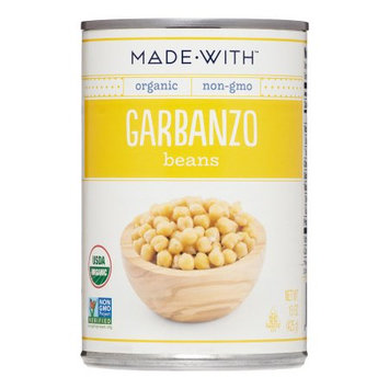 Made With Organic Garbanzo Beans, 15 Oz