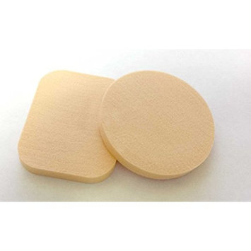 Cosmetic Sponge Flawless Smooth Pro Beauty Makeup Application Foundation Blender Powder Facial Puff Circle Rectangle Round Shape AOSTEK(TM)