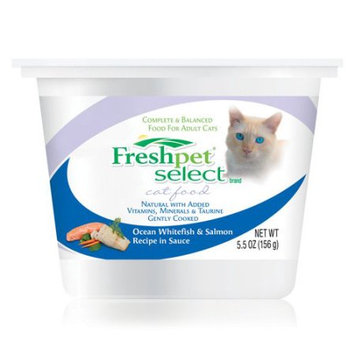 Cam Consumer Products, Inc. Cat Food, Ocean Whitefish & Salmon Recipe in Sauce, 5.5 oz (156 g)