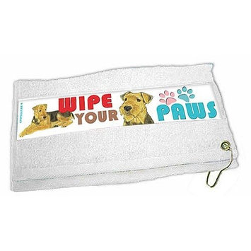 Airedale Terrier Paw Wipe Towel