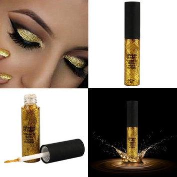 DZT1968 1PC Waterproof long-lasting Metallic Smoky Eyes Eyeshadow Waterproof Glitter Liquid Eyeliner & Eyeshadow Pen (G