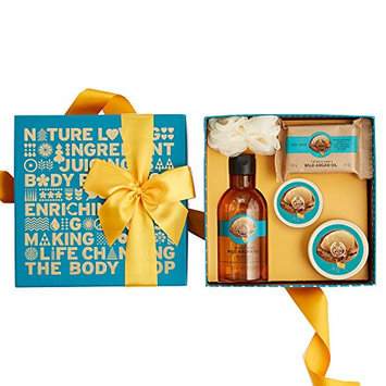 The Body Shop Wild Argan Oil Festive Picks Small Gift Set