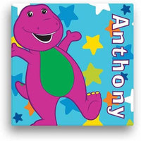 Personalized Barney Star 11