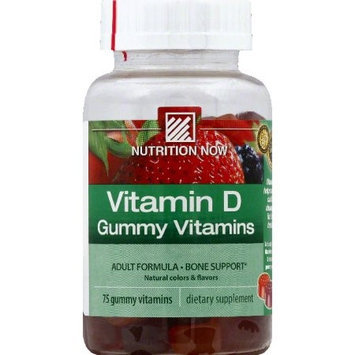 Nutrition Now 0952341 Vitamin D Gummy Vitamins - 75 Gummies
