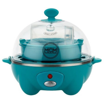 Markcharles Misilli Eggspress Egg Cooker & Poacher, 6 eggs, Aqua