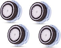 Procizion Replacement Facial Brush Heads Four Piece Refills for Delicate Skin